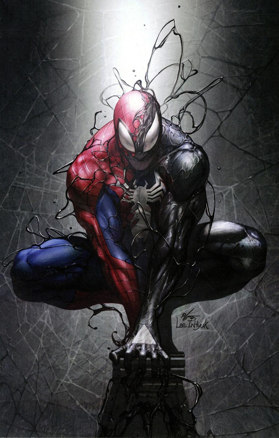 Symbiote Spider-Man Marvel Tales #1 Cover B Incentive Inhyuk Lee Virgin Cover (King In Black Tie-In)