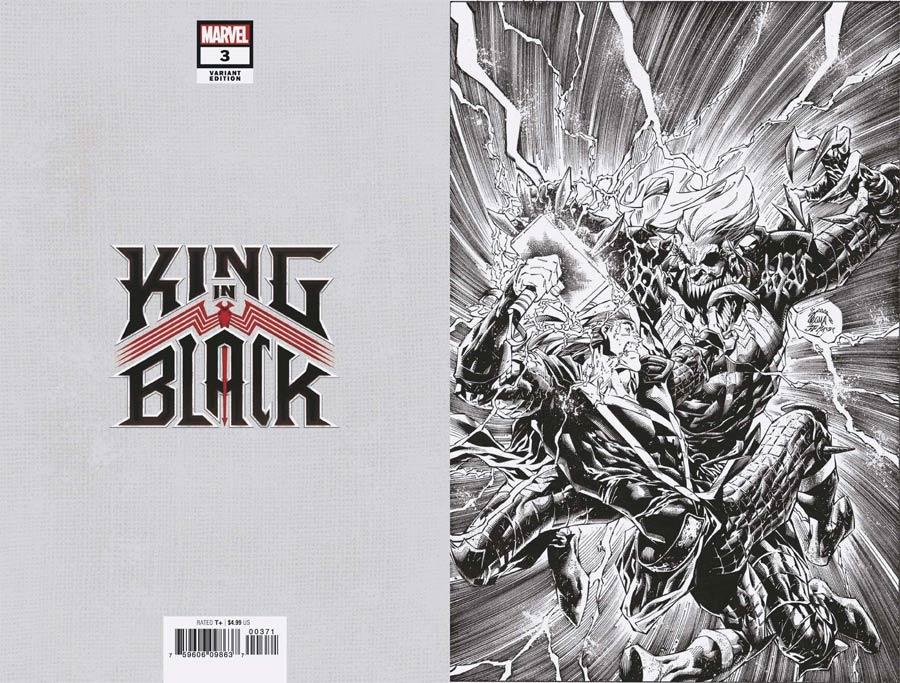 King In Black #3 Cover G Incentive Ryan Stegman Virgin Sketch Cover