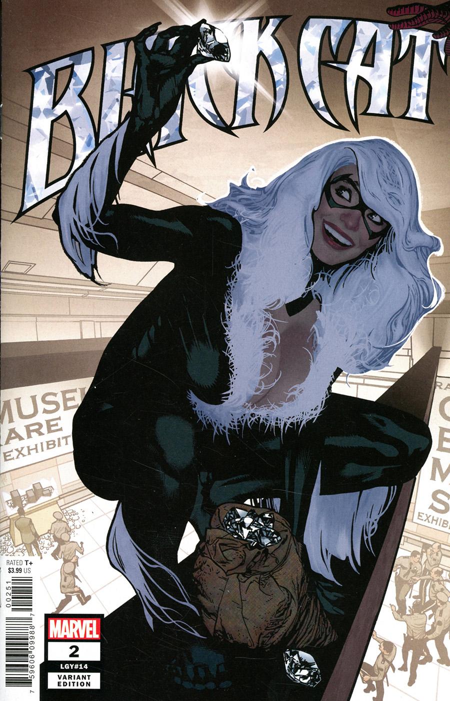 Black Cat Vol 2 #2 Cover D Incentive Olivier Coipel Variant Cover (King In Black Tie-In)