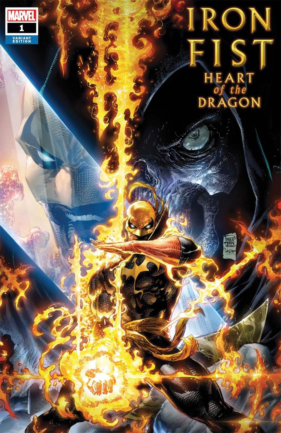 Iron Fist Heart Of The Dragon #1 Cover E Incentive Philip Tan Variant Cover