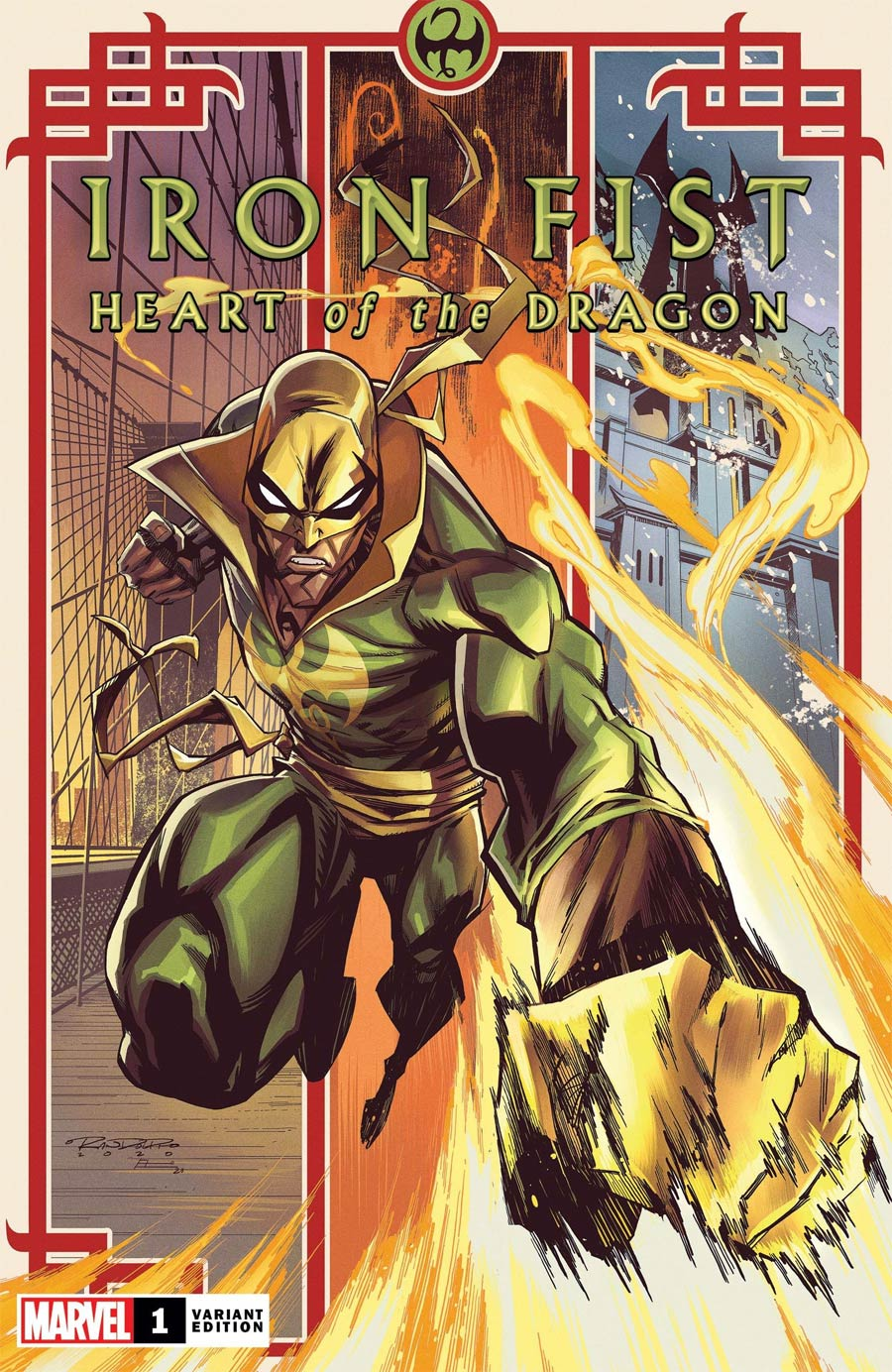 Iron Fist Heart Of The Dragon #1 Cover D Incentive Khary Randolph Variant Cover