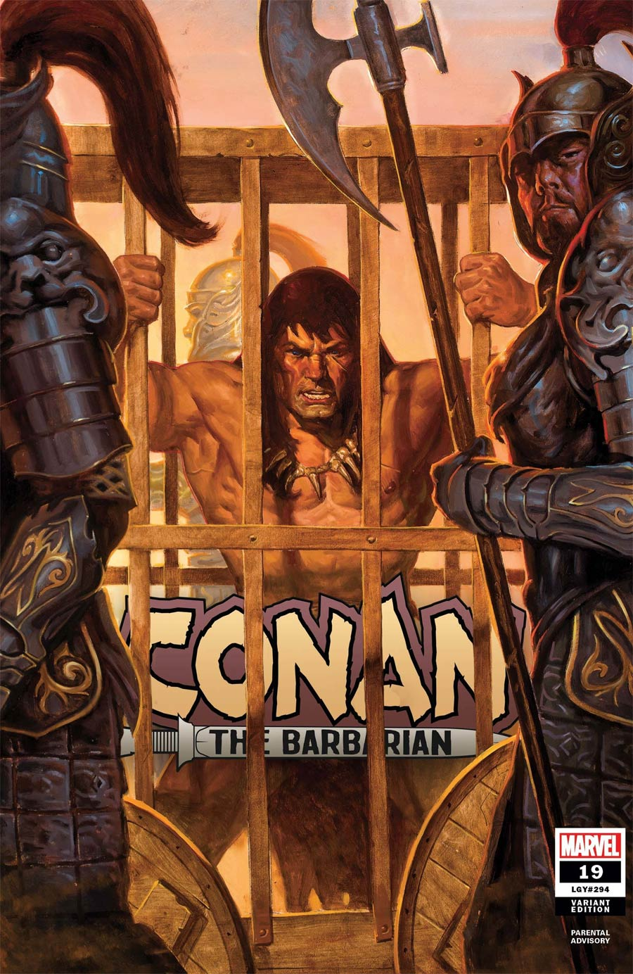 Conan The Barbarian Vol 4 #19 Cover B Incentive EM Gist Variant Cover