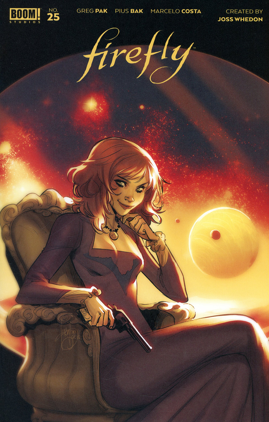 Firefly #25 Cover E Incentive Mirka Andolfo Variant Cover