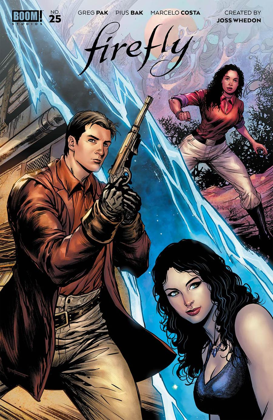 Firefly #25 Cover F Incentive Tyler Kirkham Variant Cover