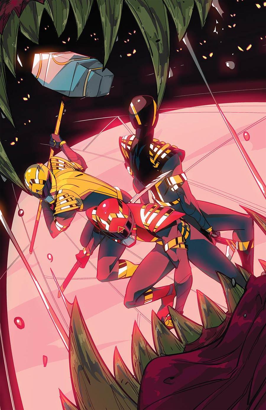 Power Rangers #3 Cover E Incentive Daniele Di Nicuolo Variant Cover