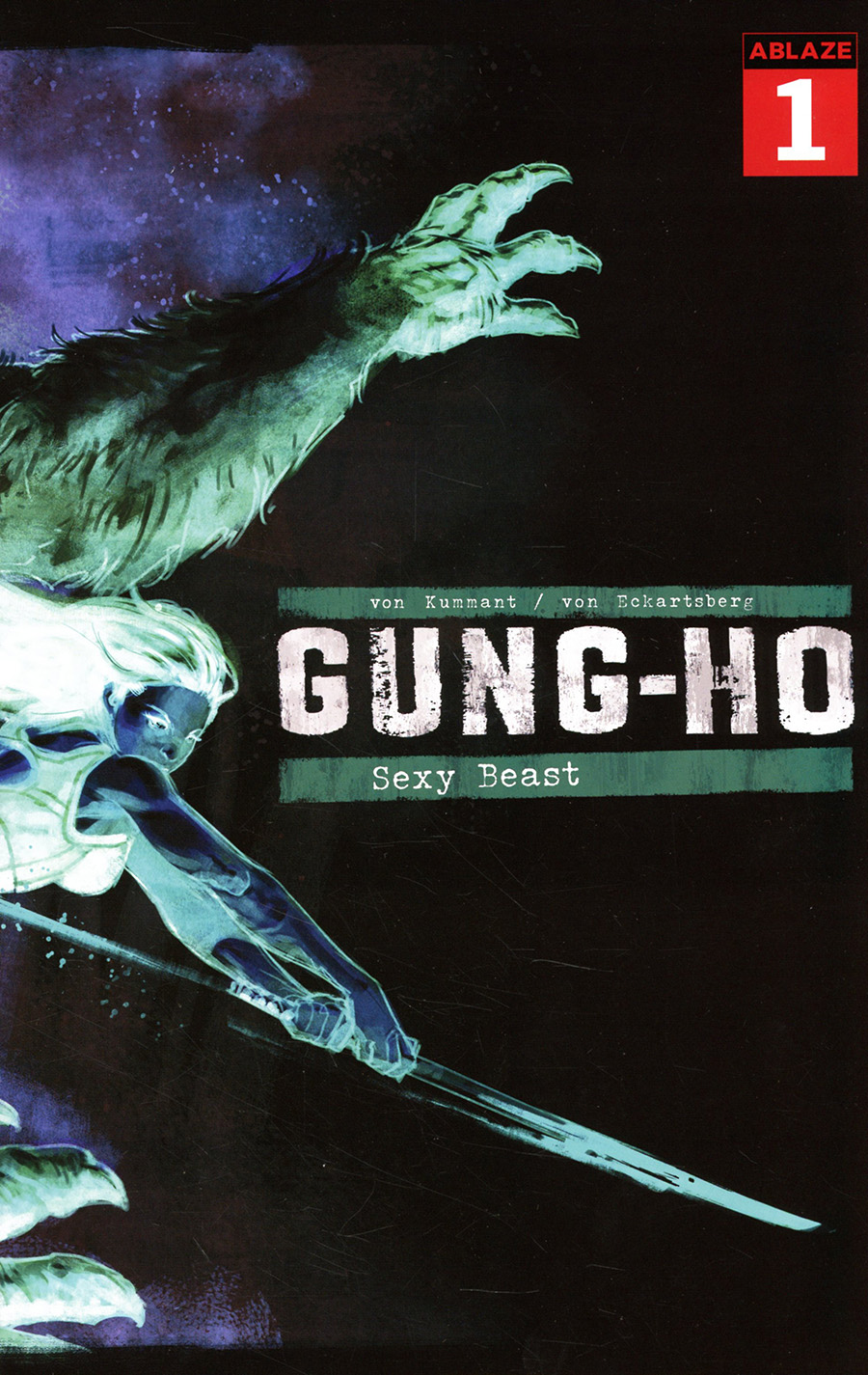 Gung-Ho Sexy Beast #1 Cover F Incentive Nic Klein Negative Cover