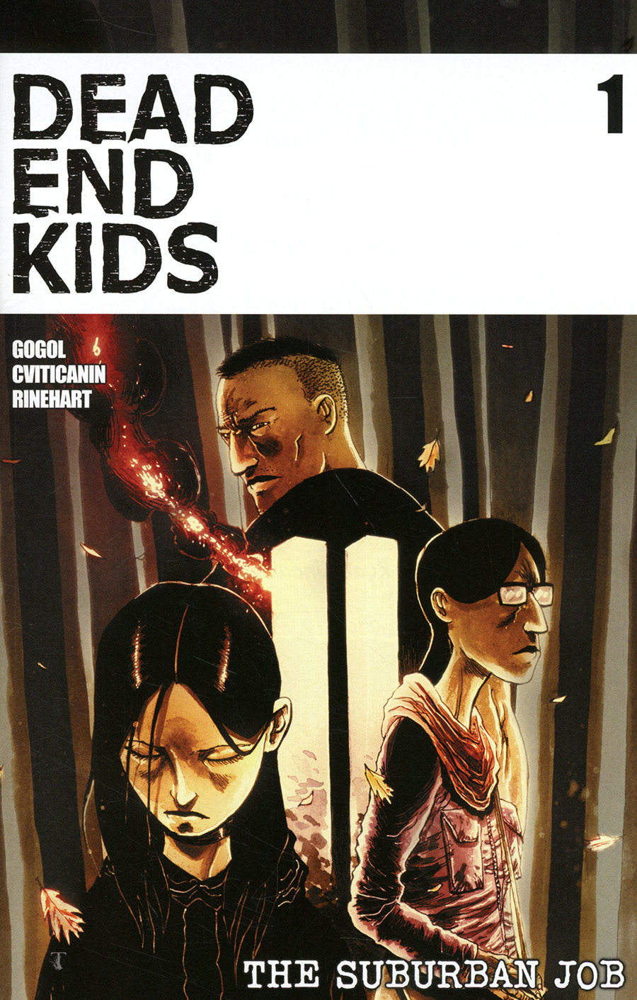 Dead End Kids Suburban Job #1 Cover C Incentive Ben Templesmith Variant Cover