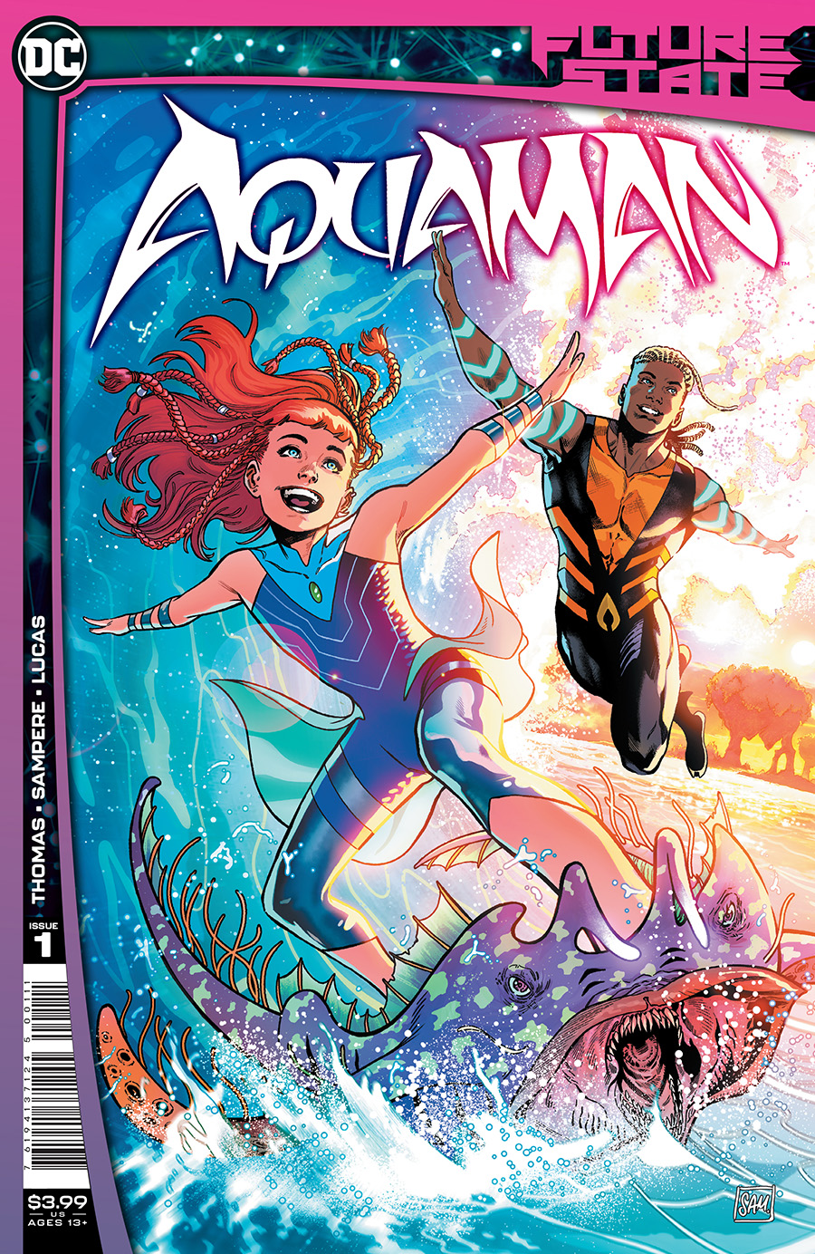 Future State Aquaman #1 Cover A Regular Daniel Sampere Cover