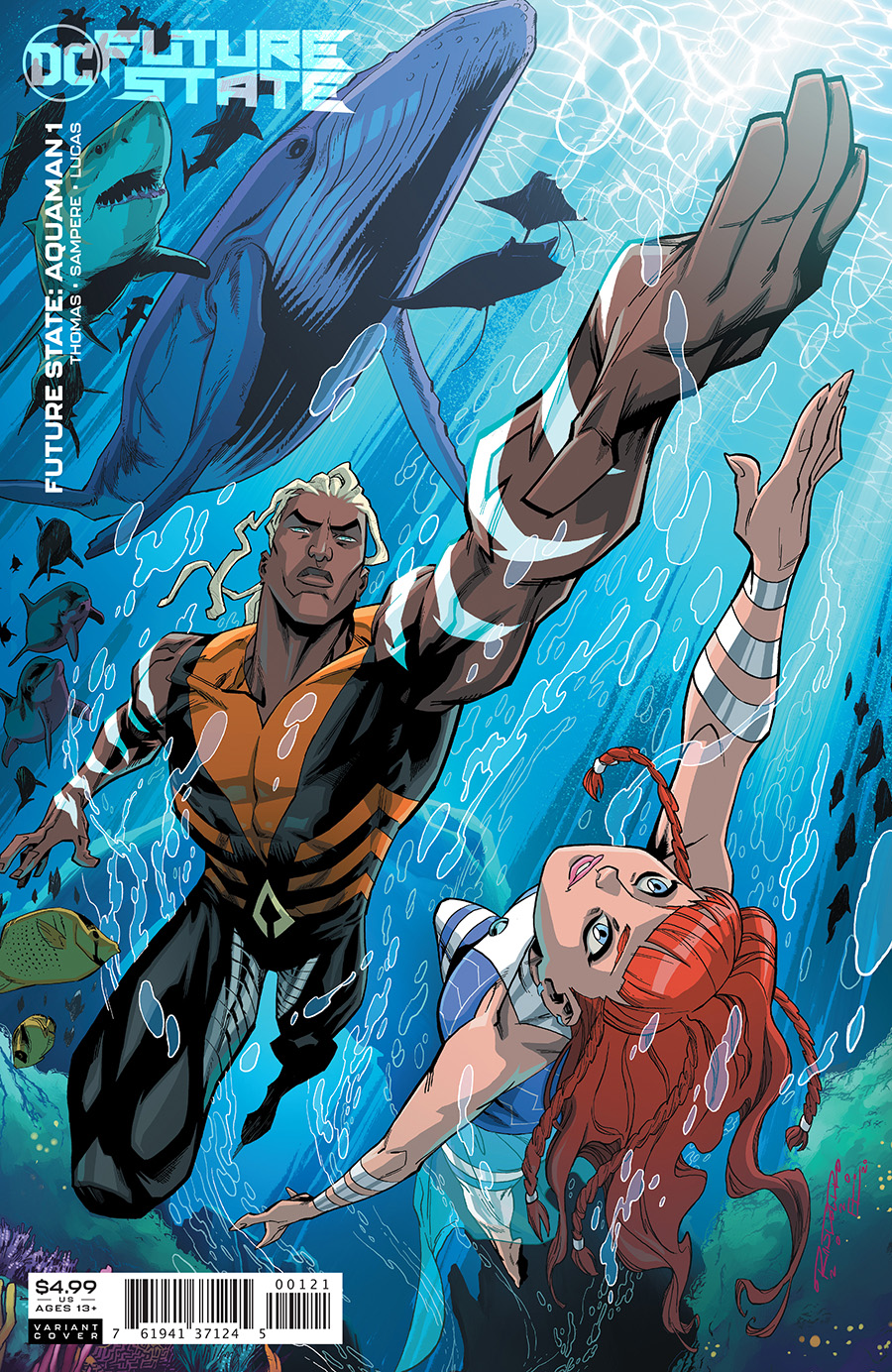 Future State Aquaman #1 Cover B Variant Khary Randolph Card Stock Cover