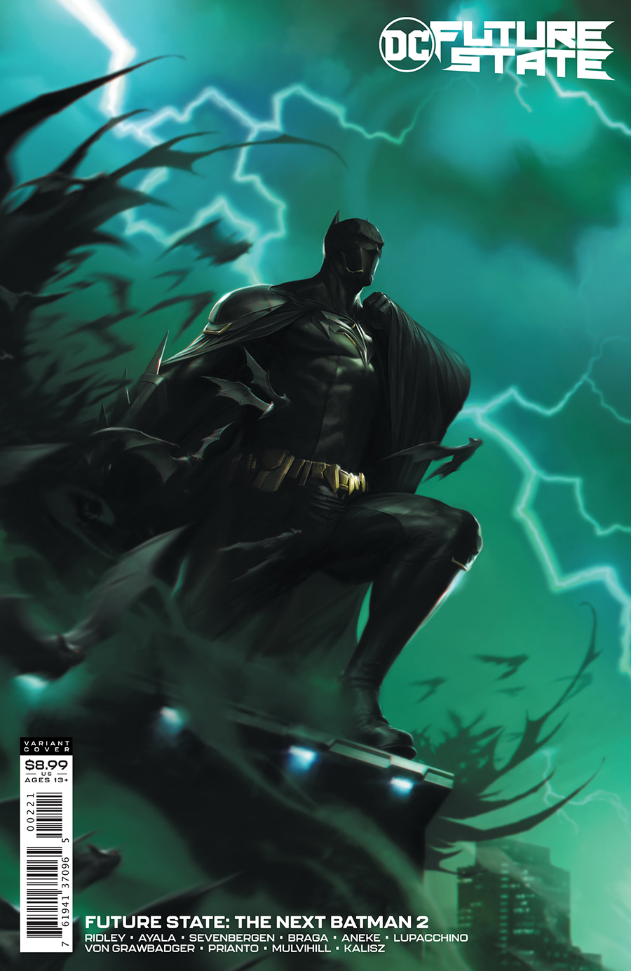Future State The Next Batman #2 Cover B Variant Francesco Mattina Card Stock Cover