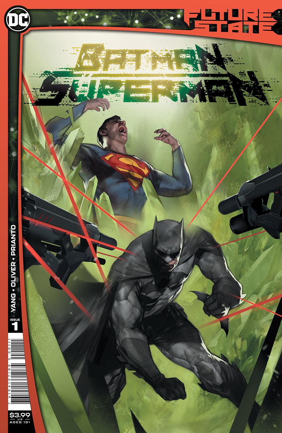 Future State Batman Superman #1 Cover A Regular Ben Oliver Cover