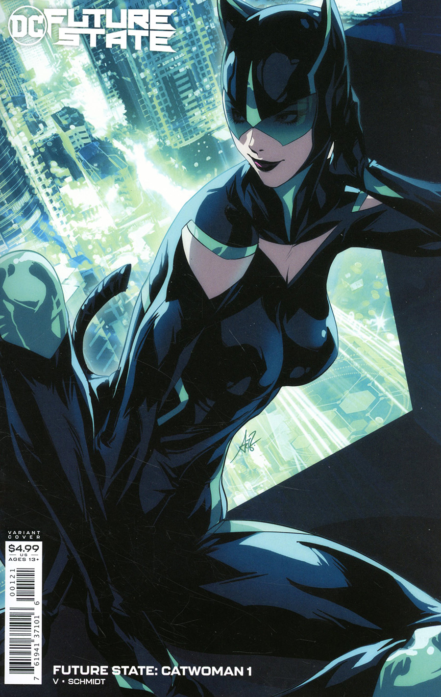 Future State Catwoman #1 Cover B Variant Stanley Artgerm Lau Card Stock Cover (Limit 1 Per Customer)