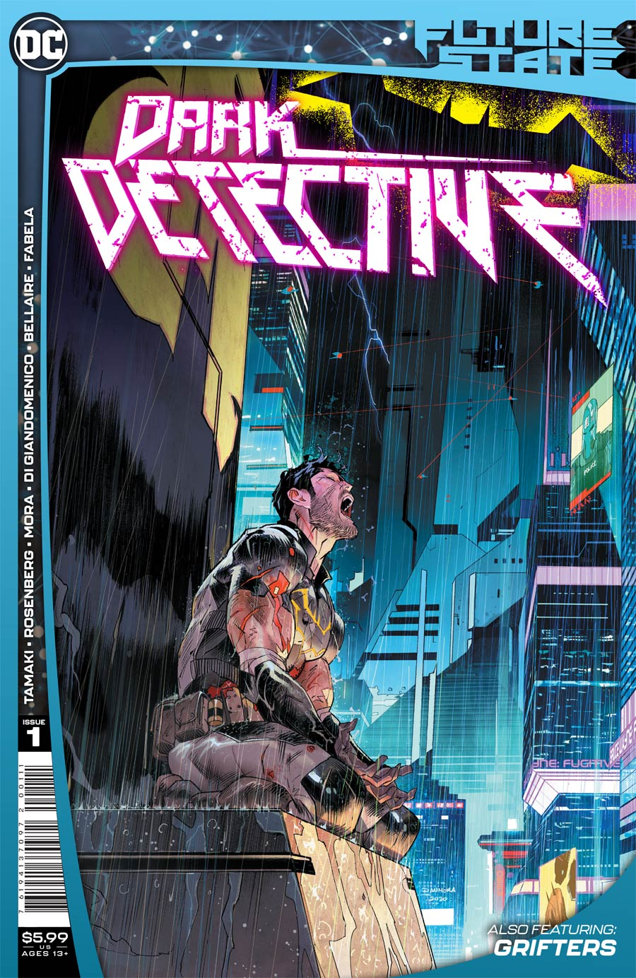 Future State Dark Detective #1 Cover A Regular Dan Mora Cover
