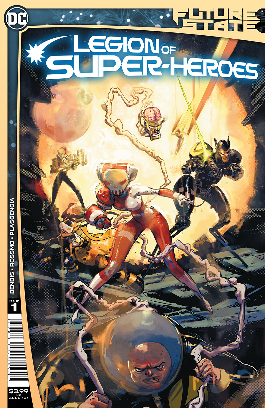 Future State Legion Of Super-Heroes #1 Cover A Regular Riley Rossmo Cover (Limit 1 Per Customer)