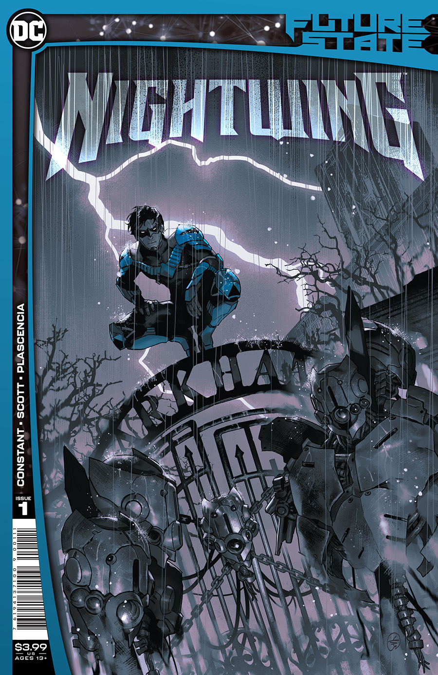 Future State Nightwing #1 Cover A Regular Yasmine Putri Cover (Limit 1 Per Customer)