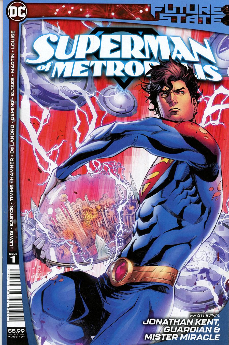 Future State Superman Of Metropolis #1 Cover A Regular John Timms Cover