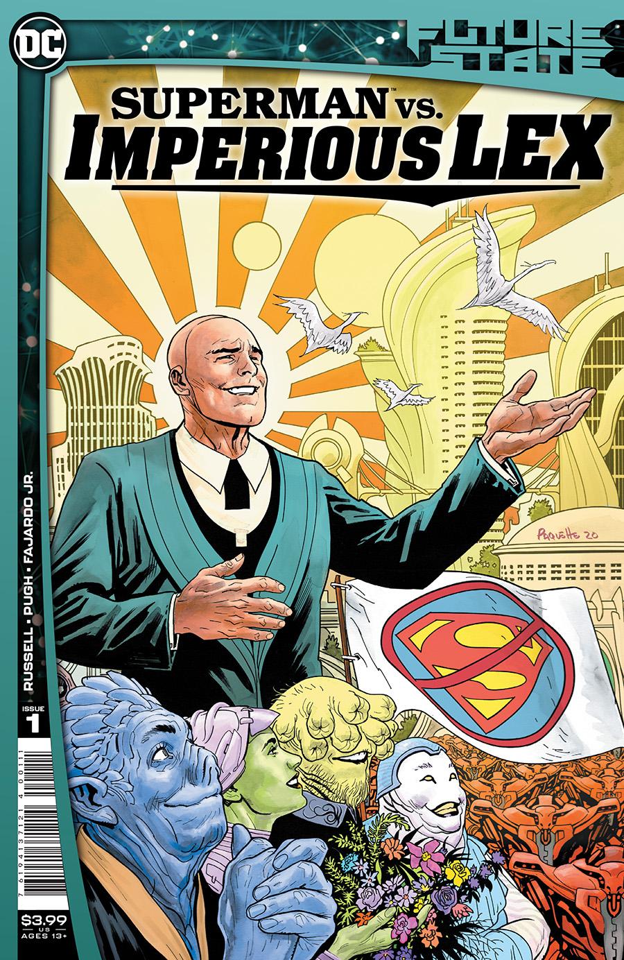 Future State Superman vs Imperious Lex #1 Cover A Regular Yanick Paquette Cover