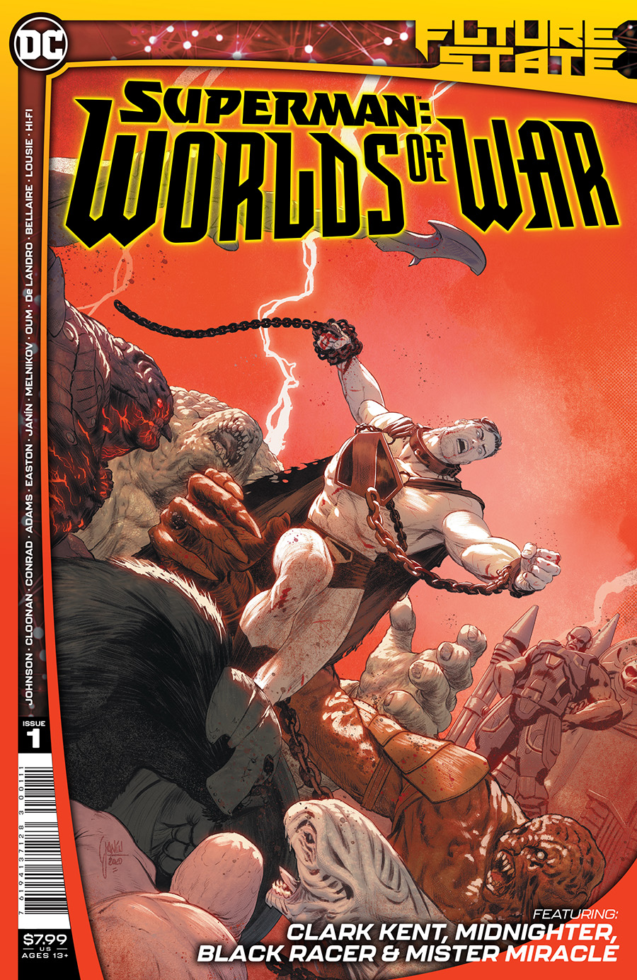 Future State Superman Worlds Of War #1 Cover A Regular Mikel Janin Cover (Limit 1 Per Customer)