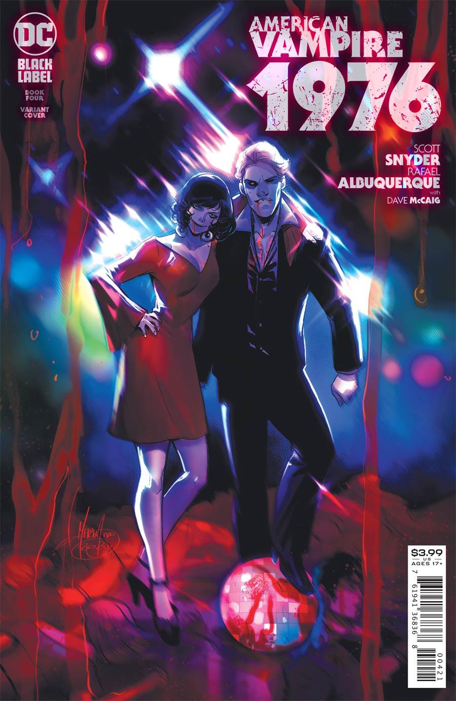 American Vampire 1976 #4 Cover B Variant Mirka Andolfo Cover
