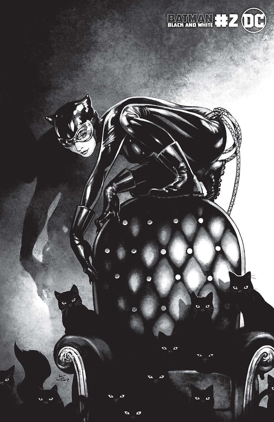 Batman Black & White Vol 3 #2 Cover C Variant Kamome Shirahama Catwoman Cover (Limit 1 Per Customer)