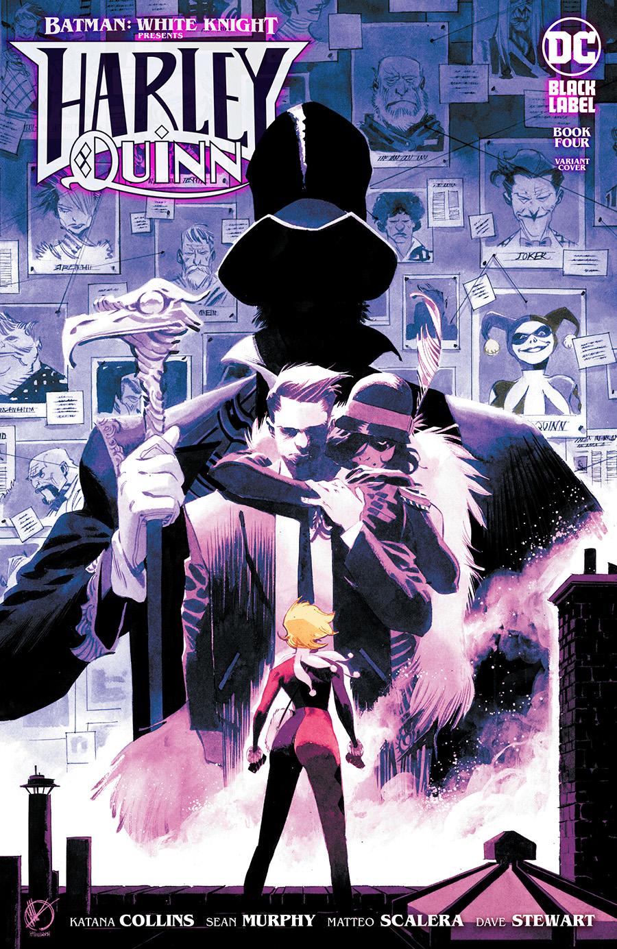 Batman White Knight Presents Harley Quinn #4 Cover B Variant Matteo Scalera Cover