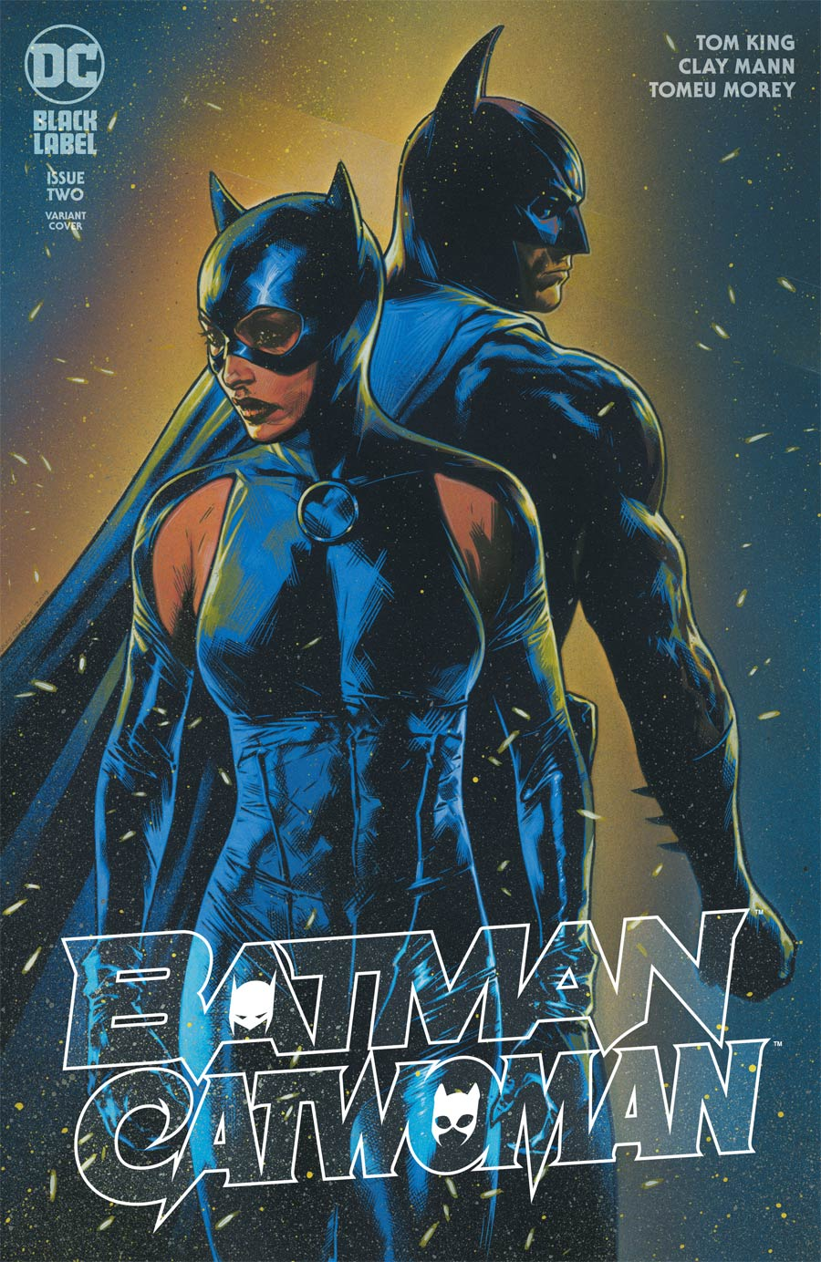 Batman Catwoman #2 Cover C Variant Travis Charest Cover