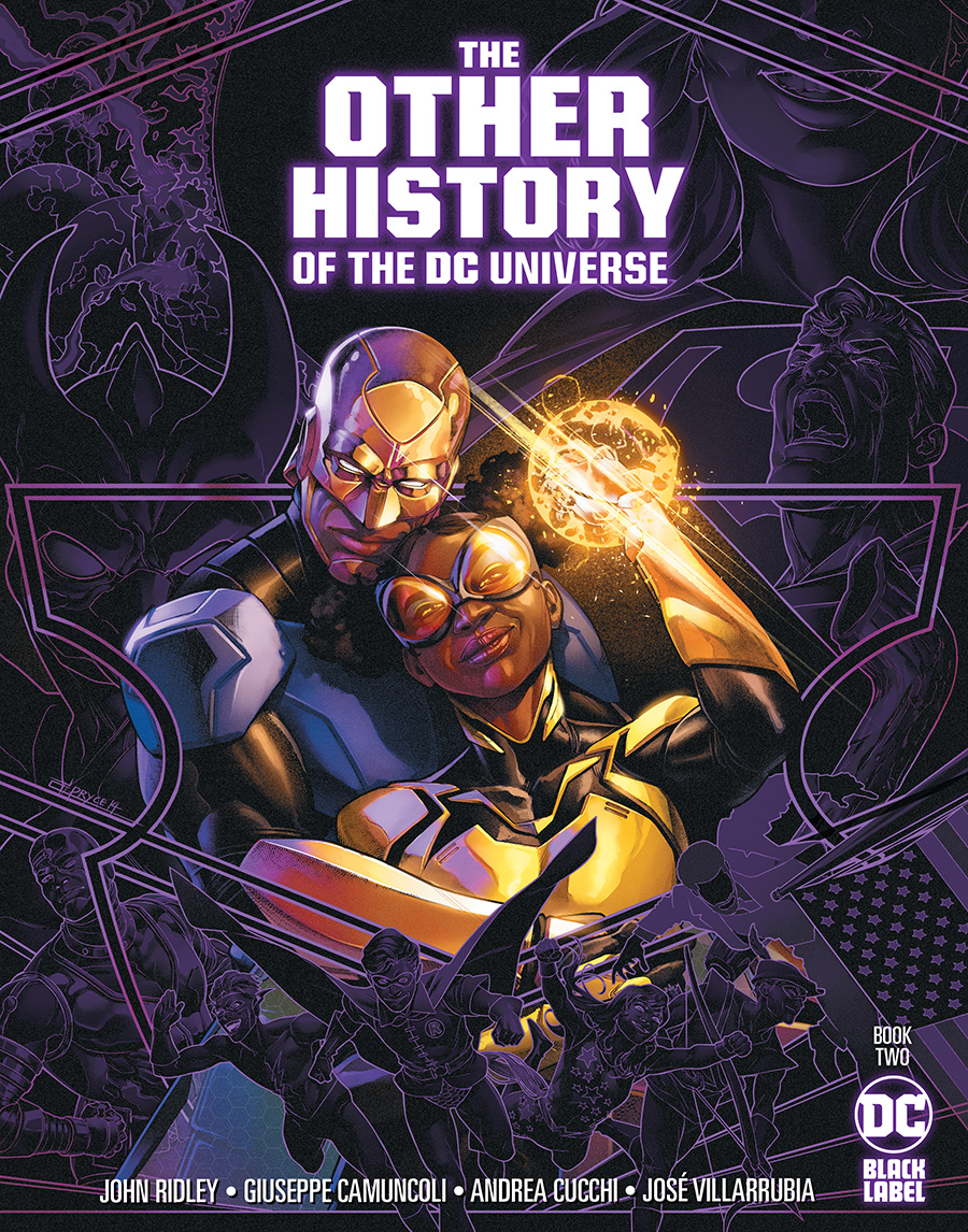 Other History Of The DC Universe #2 Cover B Variant Jamal Campbell Cover
