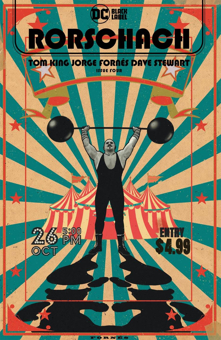 Rorschach #4 Cover A Regular Jorge Fornes Cover