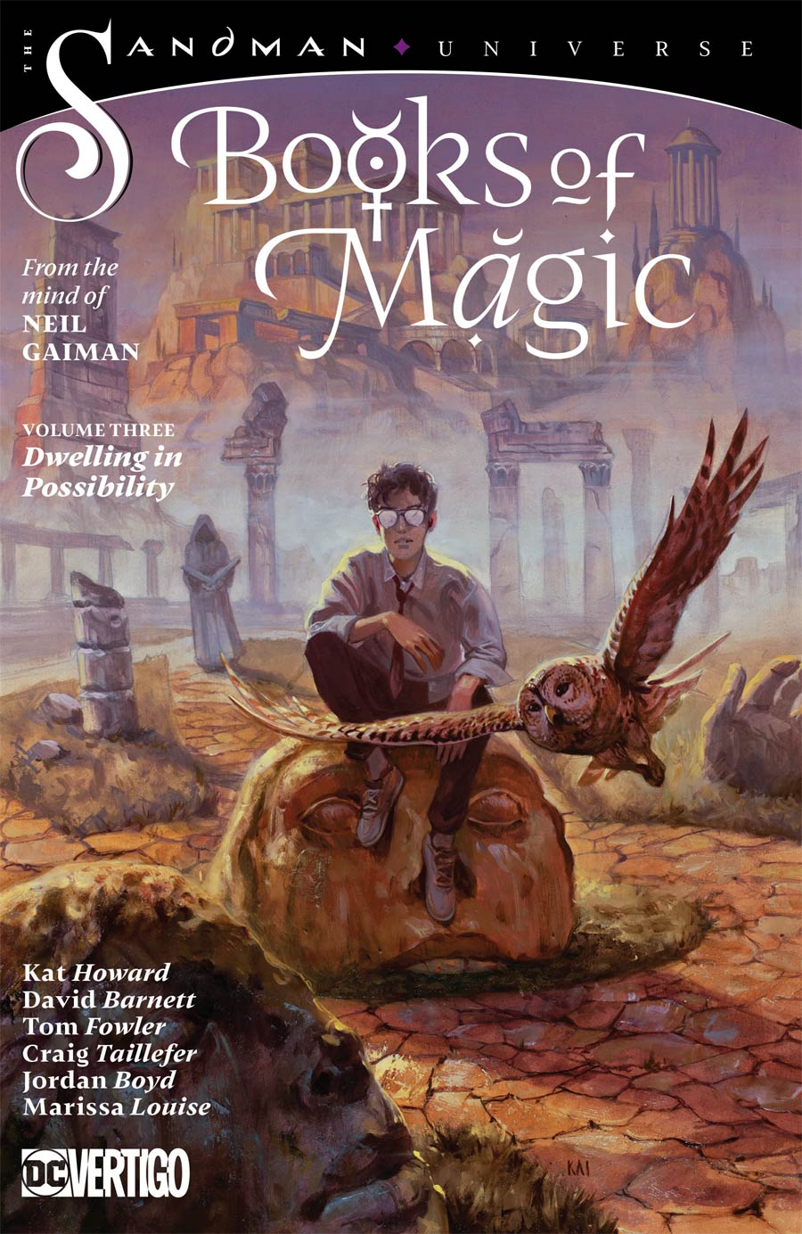 Books Of Magic (2018) Vol 3 Dwelling In Possibility TP