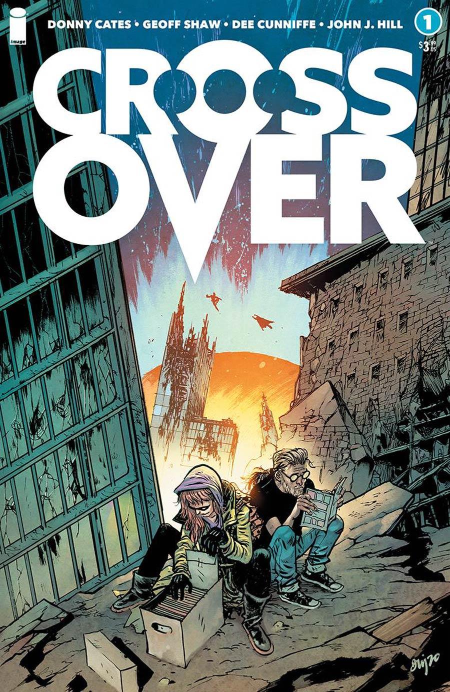 Crossover #1 Cover E Incentive Daniel Warren Johnson Variant Cover