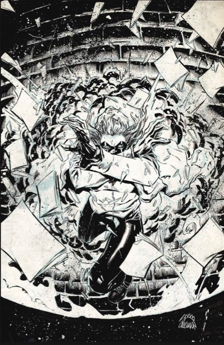 Crossover #1 Cover I Incentive Ryan Stegman Raw Cover