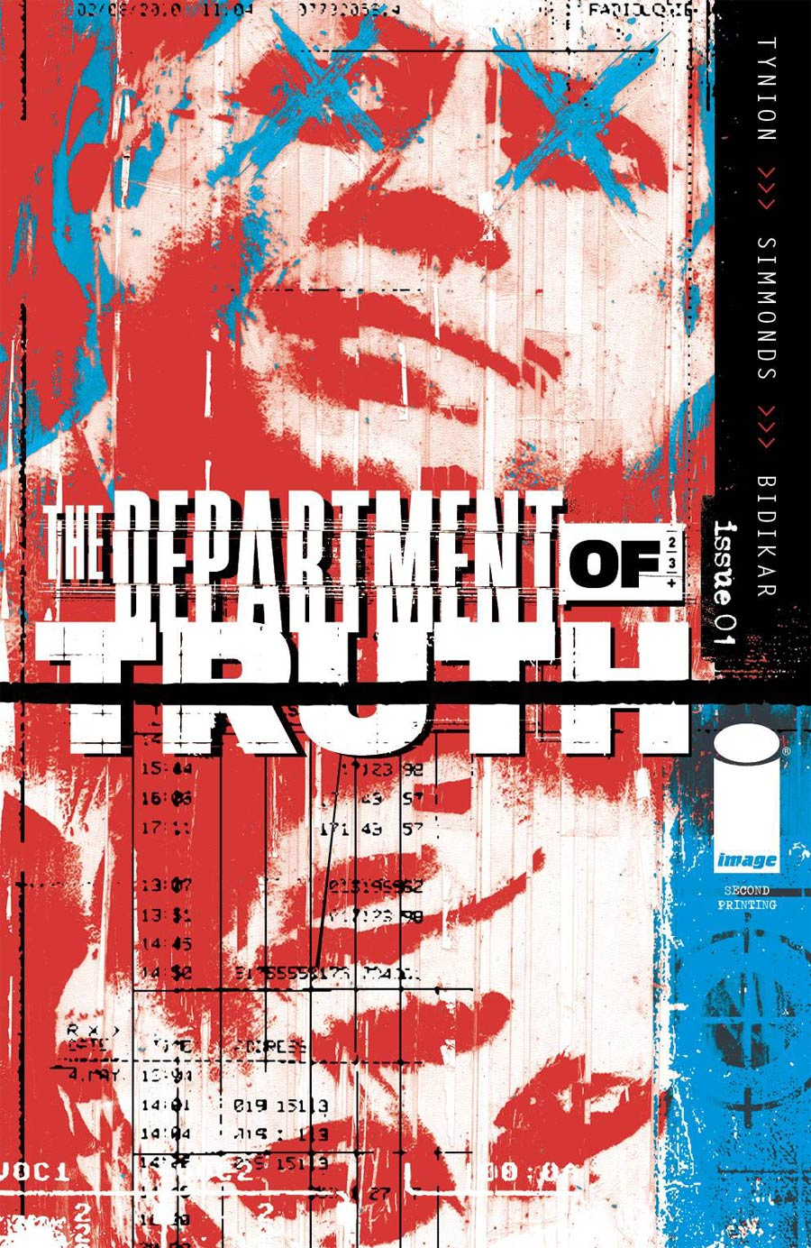 Department Of Truth #1 Cover J 2nd Ptg