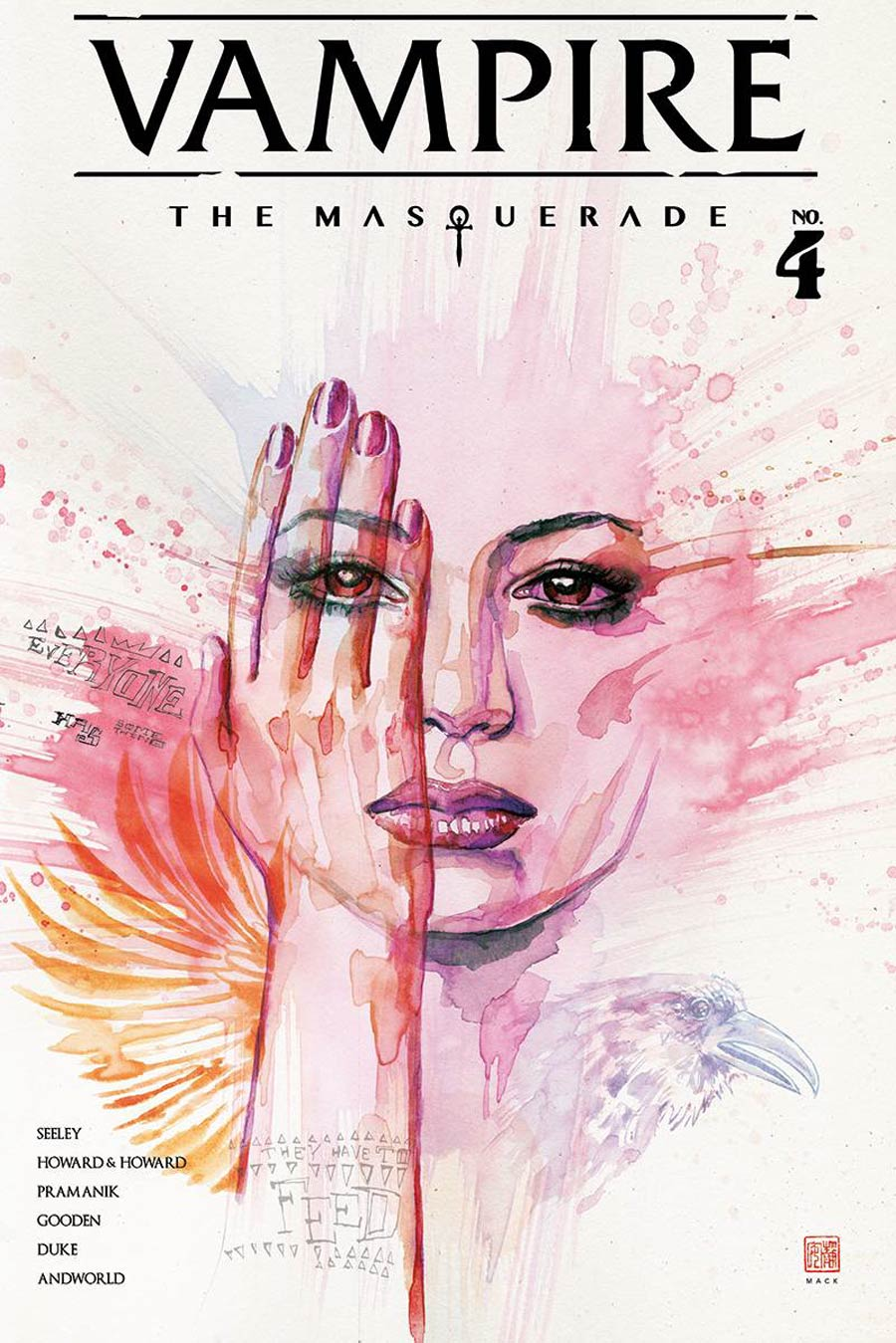 Vampire The Masquerade #4 Cover B Variant David Mack Cover