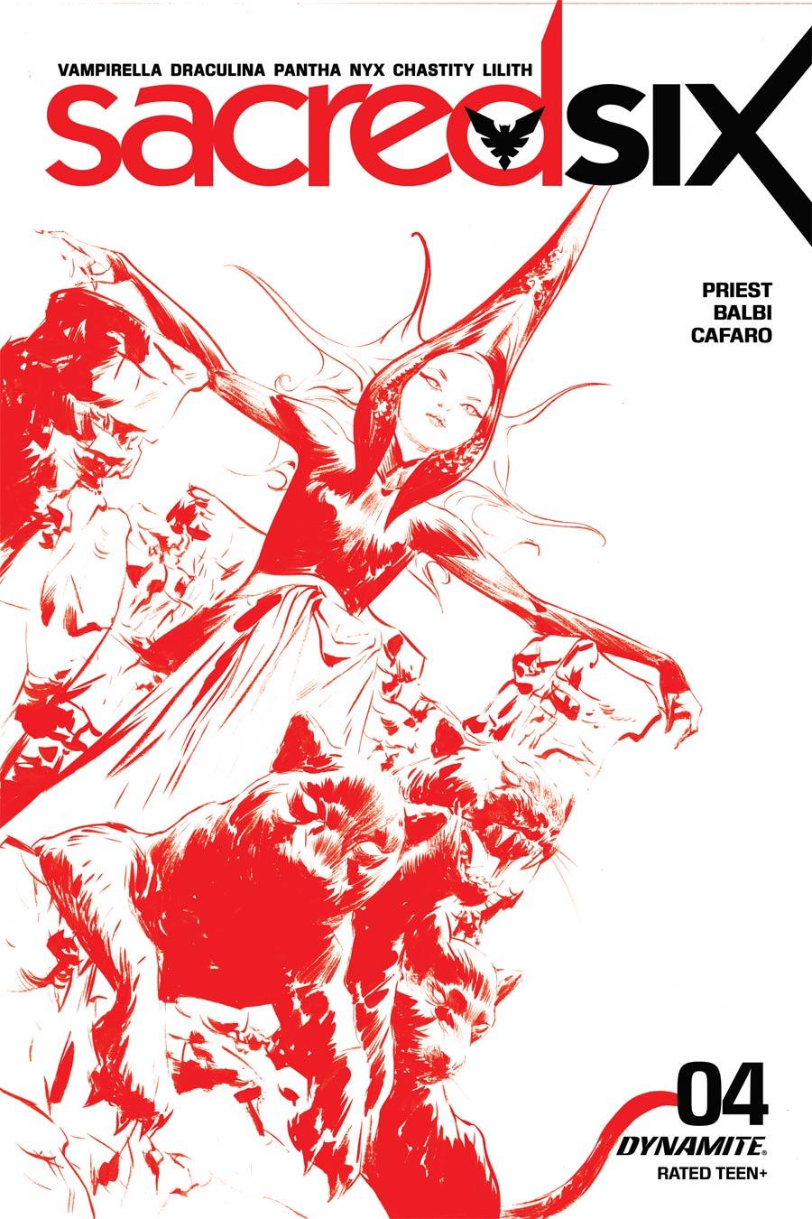Sacred Six #4 Cover I Incentive Jae Lee Tint Cover