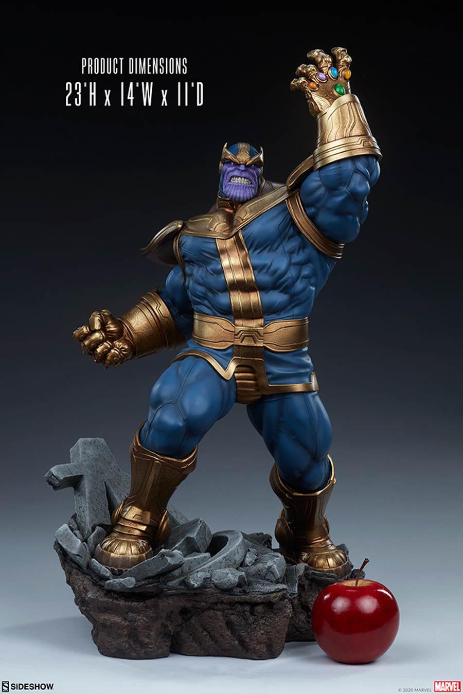 Avengers Assemble Thanos Modern Version Statue