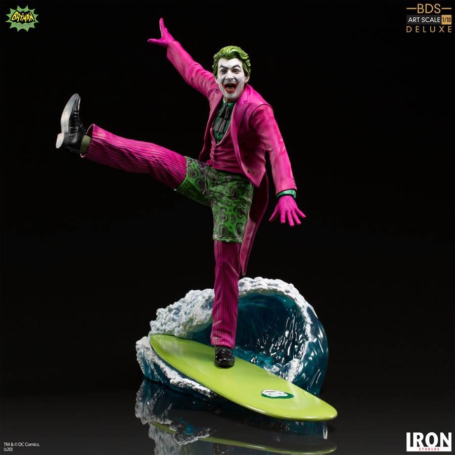 Batman 1966 The Joker 1/10 Scale Art Scale Deluxe Statue