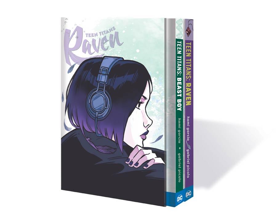 Teen Titans Raven And Beast Boy HC Box Set