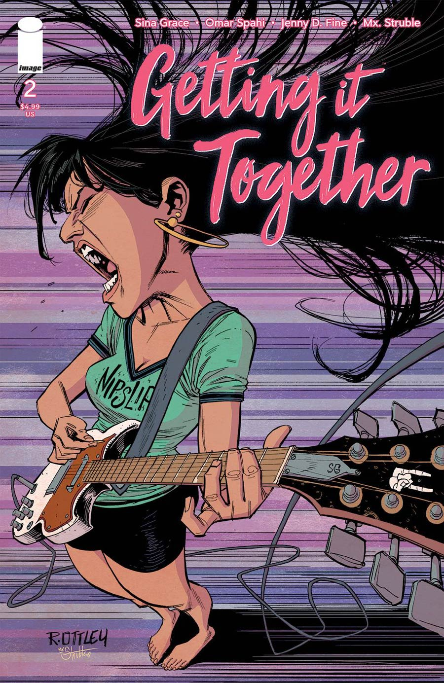 Getting It Together #2 Cover B Variant Ryan Ottley Cover