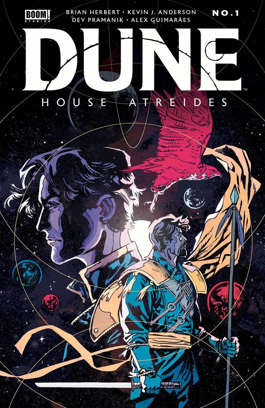 Dune House Atreides #1 Cover I 2nd Ptg Variant Michael Walsh Cover