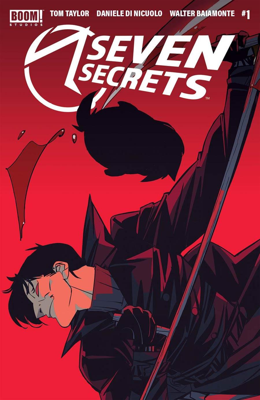 Seven Secrets #1 Cover J 4th Ptg