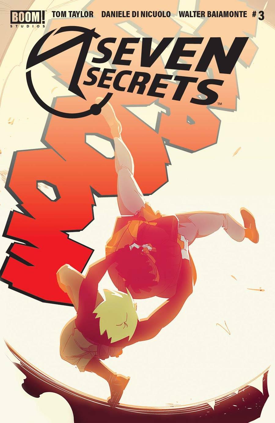 Seven Secrets #3 Cover E 2nd Ptg