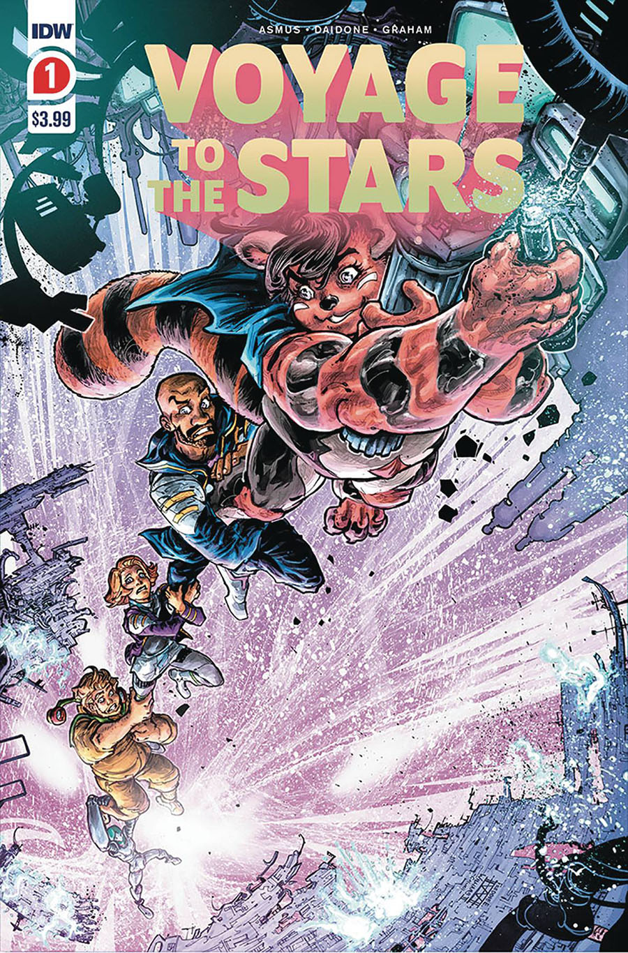 Voyage To The Stars #1 Cover D 2nd Ptg