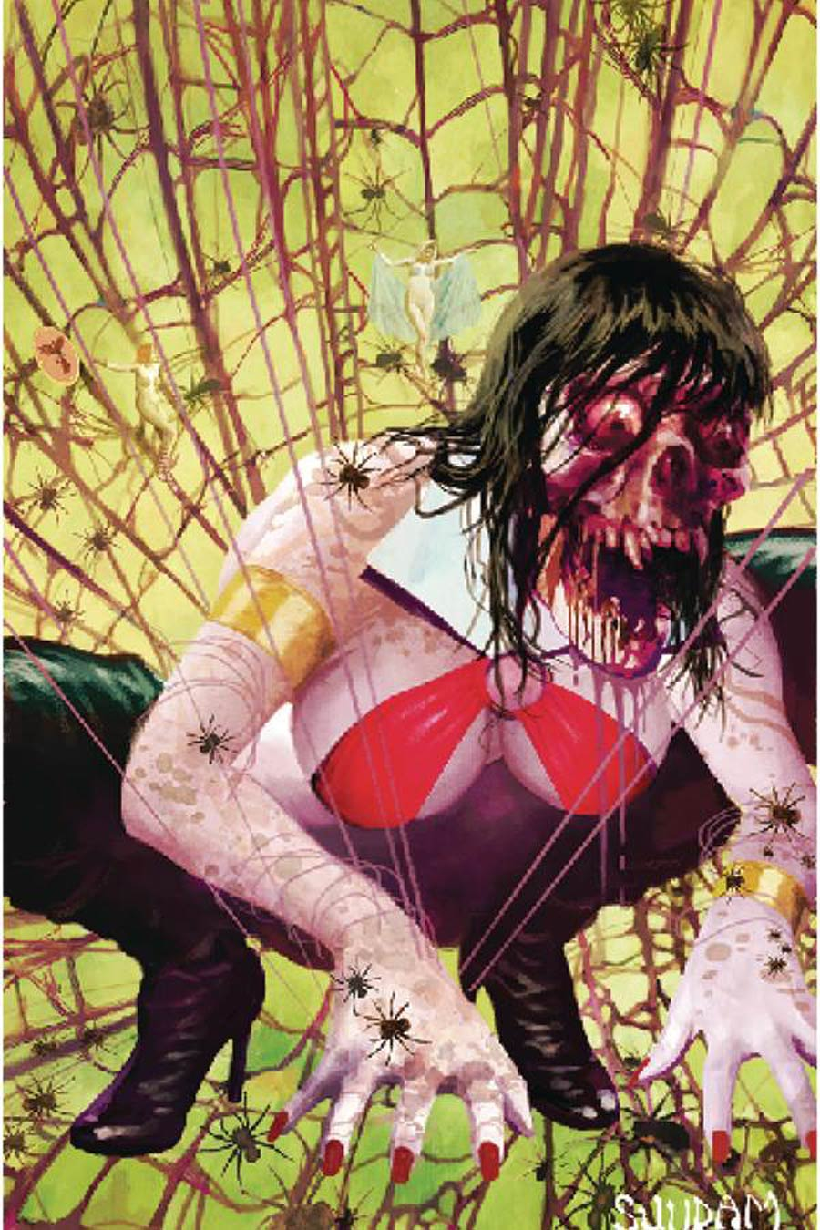 DieNamite #2 Cover L Incentive Arthur Suydam Homage Virgin Cover