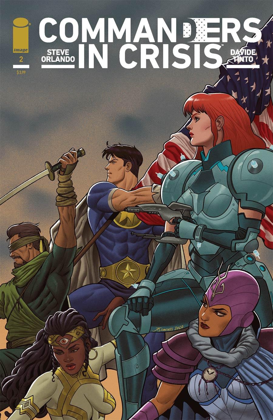 Commanders In Crisis #2 Cover E Incentive Joe Quinones Variant Cover