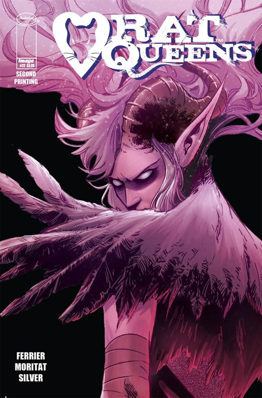 Rat Queens Vol 2 #22 Cover B 2nd Ptg