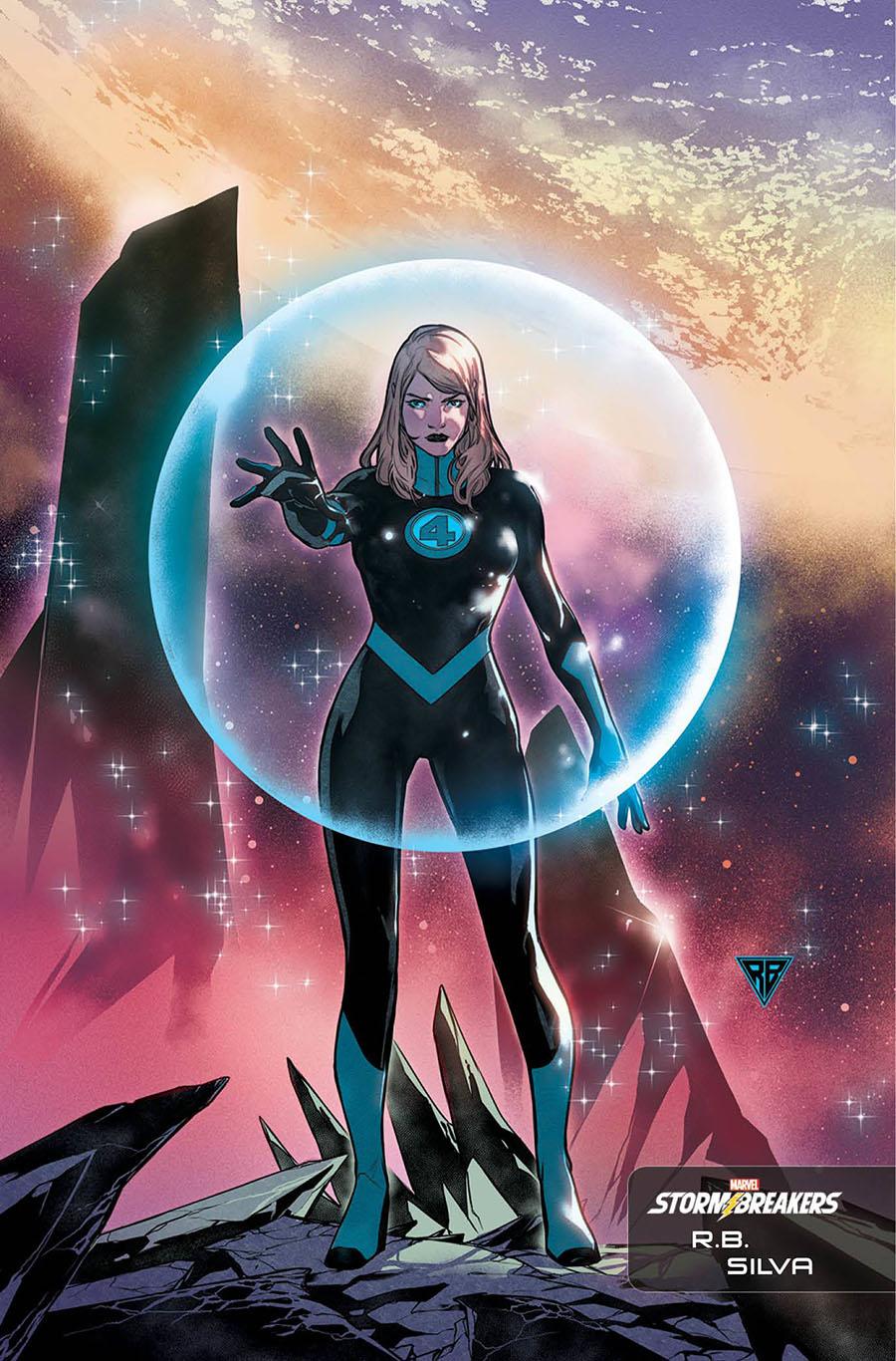 Fantastic Four Vol 6 #26 Cover C Incentive RB Silva Stormbreakers Variant Cover