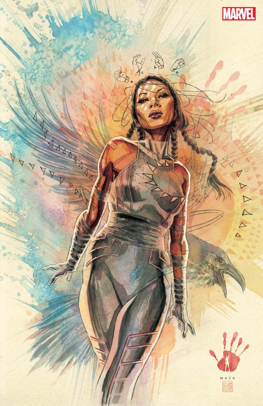 Marvels Voices Indigenous Voices One Shot Cover F Incentive David Mack Virgin Cover