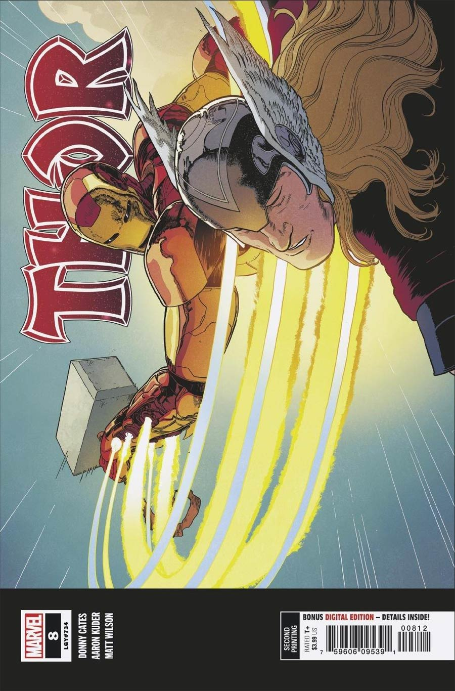 Thor Vol 6 #8 Cover G 2nd Ptg Variant Cover