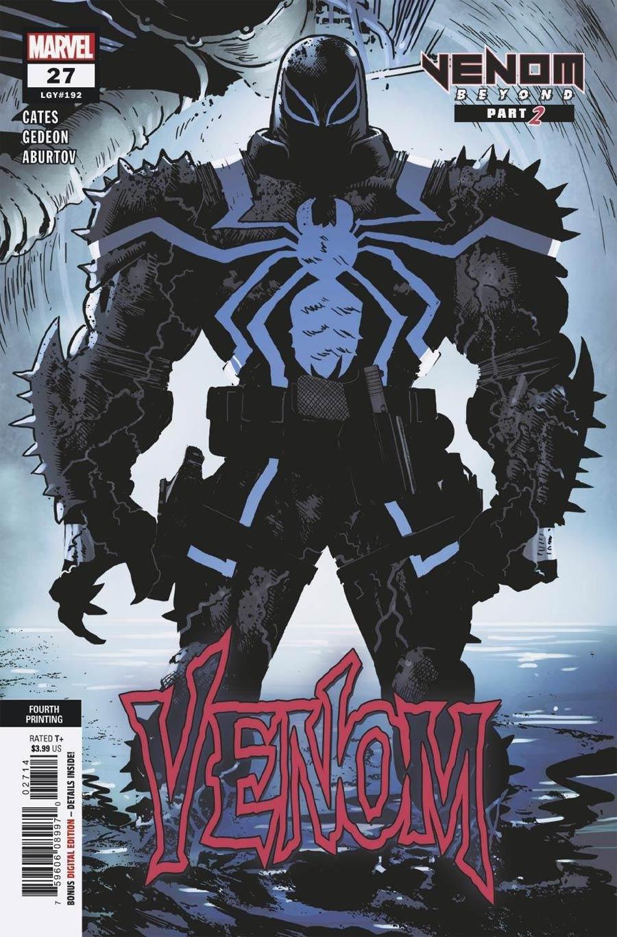 Venom Vol 4 #27 Cover I 4th Ptg Variant Cover