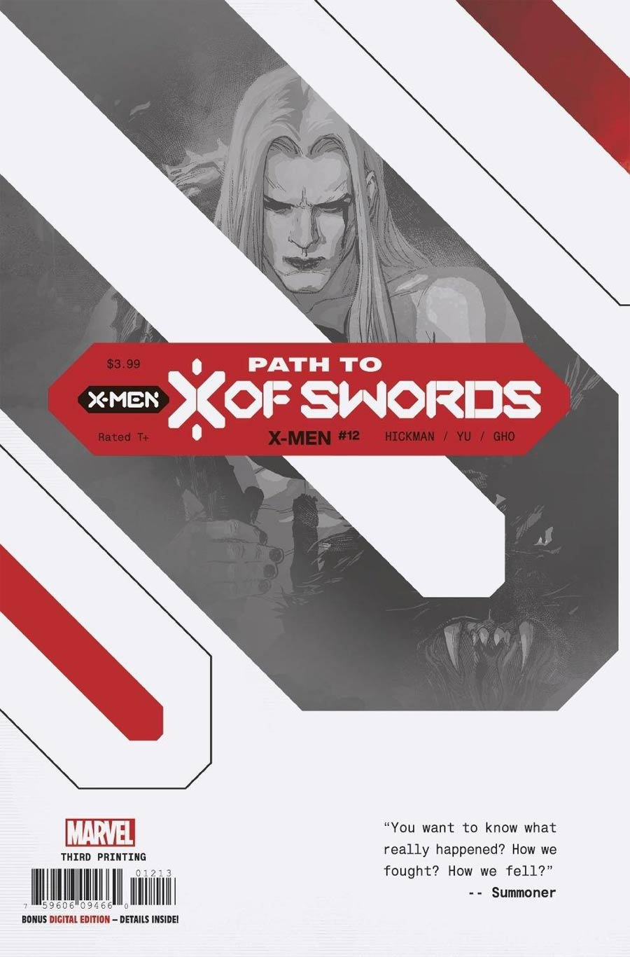 X-Men Vol 5 #12 Cover C 3rd Ptg Variant Cover (X Of Swords Prelude)